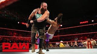 Braun Strowman & Finn Bálor vs. Kevin Owens & Jinder Mahal: Raw, Aug. 13, 2018 width=