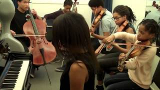 The Kanneh Masons practicing ~ Brahms Hungarian Dance