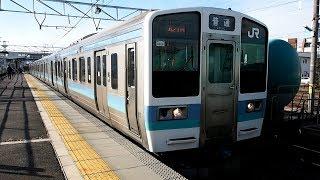 2018/01/10 篠ノ井線 211系 N606編成 南松本駅