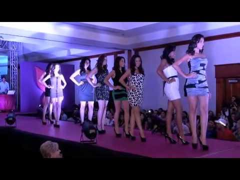 Presentación de Candidatas a Miss Teen Nicaragua 2012