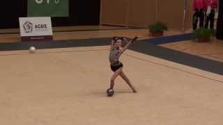 Ginástica Rítmica - Torneio da Primavera GR 2014 - VCQ - Sofia Oliveira - Bola