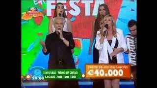 """BROA DE MEL """"Tango tango"""" Em Gondomar no Portugal em Festa (SIC) - Contacto"""