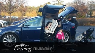 How family friendly is the Tesla Model X?