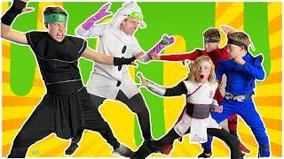 Dr. Disaster VS Ninja Kidz and the Heroes of Goo Jit Zu!