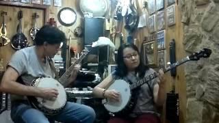 Home sweet home - Prof. JP e Carol Zoccoli - Making off aula banjo 5 string - 5 cordas