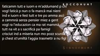 Rocco Hunt   Na stanza nostra [lyrics]