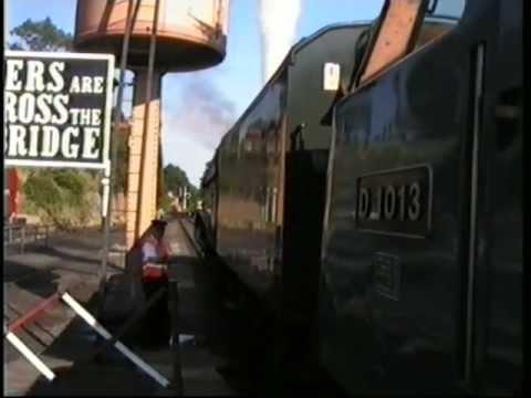 *Rare* A4 60009 Drags Failed Western Ranger D1013 on Severn Valley Railway