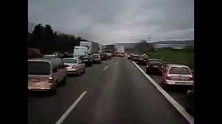 How Germans React to Ambulance Siren