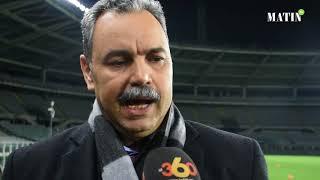 Mhamed Khalil parle des mesures prises pour le match