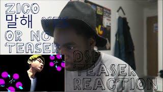 지코 (ZICO) - 말해 Yes Or No Teaser 1&2 (DSP Teaser Reaction)