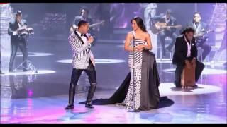 Esta noche Raulin Rodriguez y Nathalie Peña, Soberano 2014 HD .