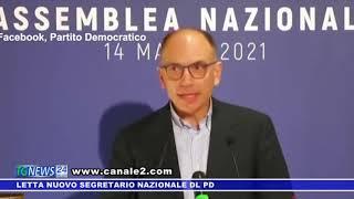 LETTA NUOVO SEGRETARIO NAZIONALE DEL PD