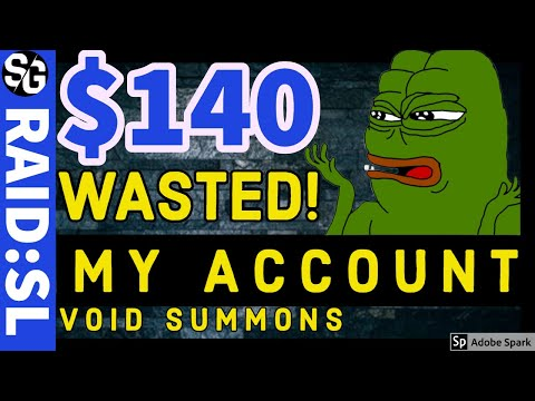 RAID SHADOW LEGENDS | $140 DOWN THE DRAIN! VOID SUMMONS