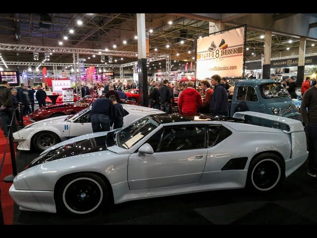 1 of 41 Extremey rare De Tomaso Pantera SI supercar at Interclassics Maastricht 2018 [Walkaround]