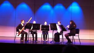 WHS Honors Woodwind Quintet plays Haydn's Menuetto and Trio from Octet