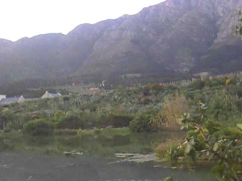 very nice veiw from my room south africa