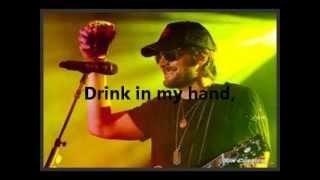 Eric Church-Drink in my hand-Lyrics
