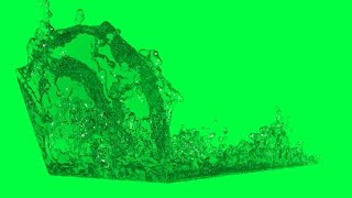 water green screen 2,100,000 particles animated free royalty footage