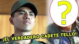 """Este es el verdadero Cadete Tello en la vida real - Serie """"Luis Miguel"""""""