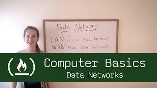 Computer Basics 10: Data Networks