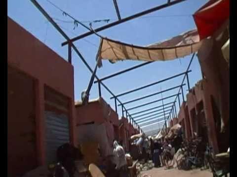 Amaziah Tv : Inezgane souk & outdoor market Morocco