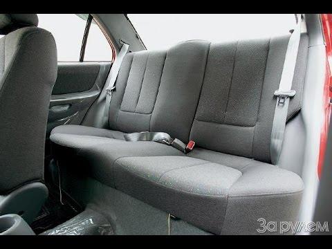 Как снять заднее и переднее сидения Daewoo nexia