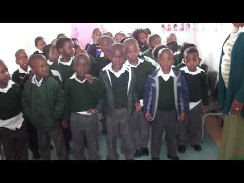 Besuch im Kindergarten in Khayelitsha Township in Kapstadt/Südafrika