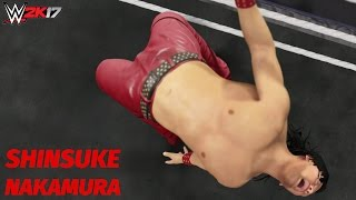 WWE 2K17: Shinsuke Nakamura Custom Titantron! (w/ Custom Theme)