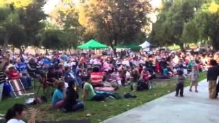 公園鄉村歌曲演唱會