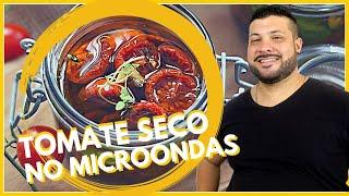 RECEITA DE TOMATE SECO NO MICROONDAS