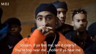 2pac - Holler if you hear me REMIX + lyrics