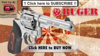 Download video: Ruger GP100 Review 6 Inch Stainless Model