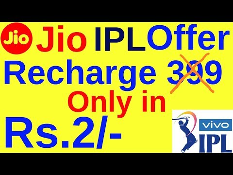 Download thumbnail for Jio IPL Offer Recharge Rs 399 Only in