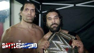 Declaraciones de Jinder Mahal y The Great Khali post WWE Battleground