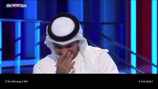 مذيع يضحك أثناء نشرة أخبار الرياضة Announcer laughs