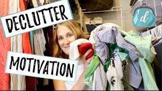 DECLUTTER MOTIVATION | Closet Organization Refresh Tips