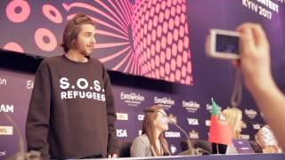 Diário de Kiev: Salvador Sobral tinha uma mensagem para passar à Europa | RTP