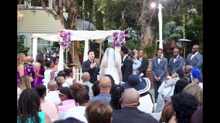 Deitrick and Dominique Haddon Wedding Slideshow