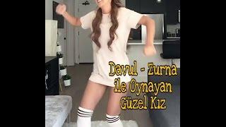 Davul Zurna İle Oynayan Güzel Kız (Remix)