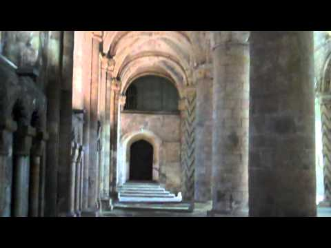 Interior Dunfermline Abbey Fife Scotland