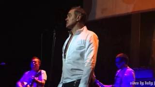 Morrissey-LET ME KISS YOU-Live @ The Masonic, San Francisco, CA, December 29, 2015-The Smiths-MOZ