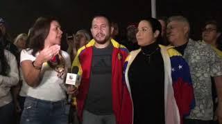 Venezolanos se expresaron este 23 de enero en el Suroeste de Florida