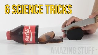 6 Science Tricks - Amazing Experiments
