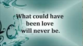 Aerosmith - What Could Have Been Love (lyrics)