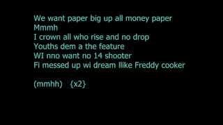 Tommy Lee Sparta - We Want Paper (Lyrics)