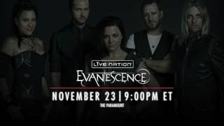 Evanescence - Take Cover HD mp3 (New Song 2016 LiveNation Live Stream NY) lyrics in description