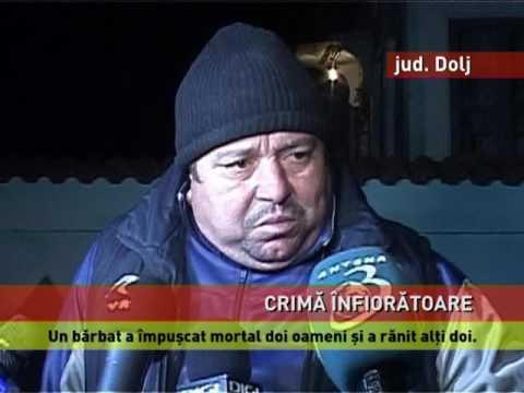 Crimă oribilă în județul Dolj