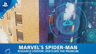 Marvel's Spider-Man (PS4) - Research Station - Ventilate the Problem