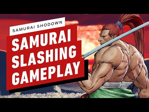WTFF::: Samurai Shodown 12 Minute Gameplay Video Highlights Executions, Specials, And Sword Clashes