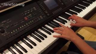 JaneScoring #02 Amar Pelos Dois Piano Cover (Eurovision 2017 winner song) |Salvador Sobral)